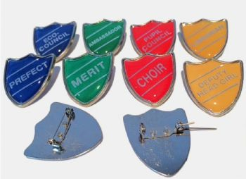 School Shield Badges